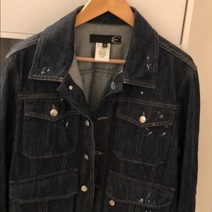 Just Cavalli Men's Denim Jacket (XL Size)